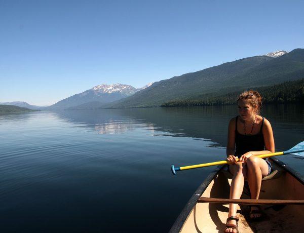 Trektocht door Canada: Clearwater Lake