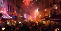 Nieuwjaar vieren in Istanboel