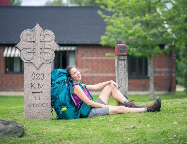 Start van het Sint-Olavspad: van Oslo tot Gjellerasen