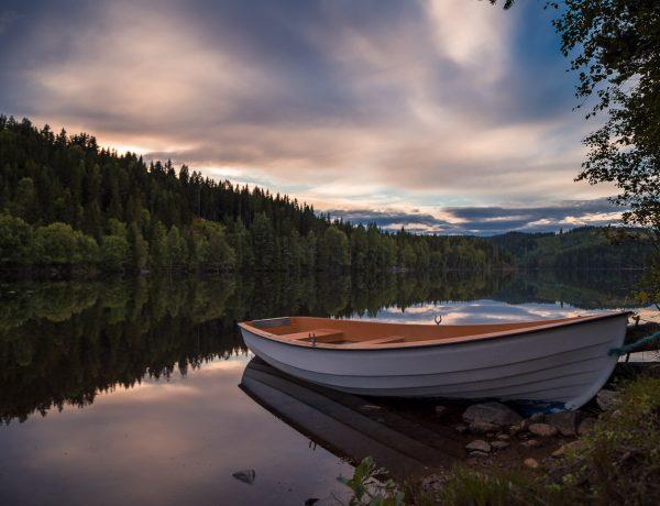 Het St-Olavspad: zwemmen op z'n Noors