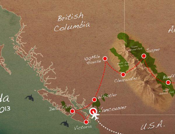 Hoe plan je een reis door de Canadese Rocky Mountains?