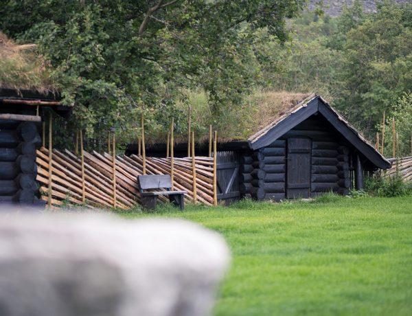 Het St-Olavspad: slapen op een filmset