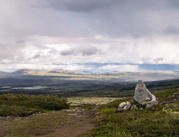 Het St-Olavspad: het begin van Dovrefjell