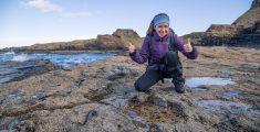 Dino's jagen op Isle of Skye