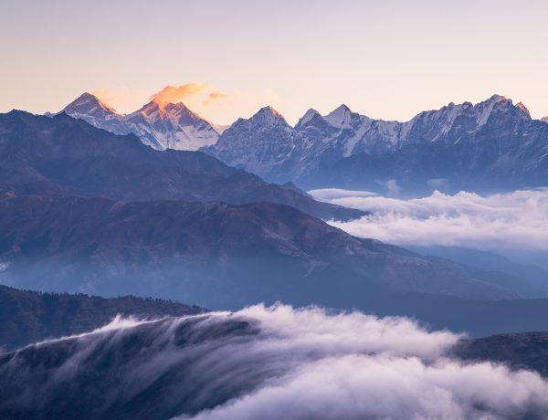 Nepal: Zonsopgang op de Pikey Peak