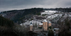 Steen en modder rond Kasteel Reinhardstein (6km)